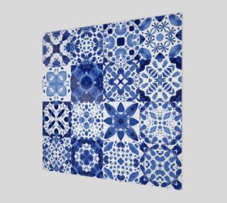 Aperçu de Indigo Watercolor Tiles