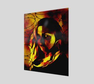 Inner Demons Modern Art by Tabz Jones preview