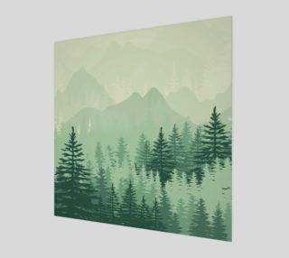 Aperçu de Forest Pine Art Print
