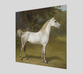 Vintage Stallion by Jacques-Laurent Agasse Wood Wall Art preview