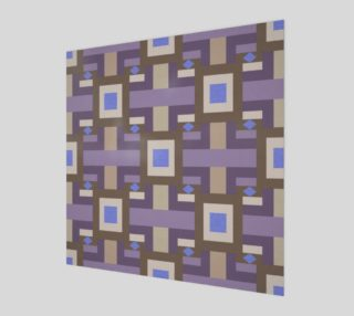 Aperçu de Winter geometry pattern