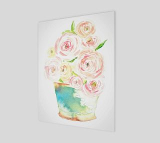Aperçu de Country Flowers in Pot 11x14