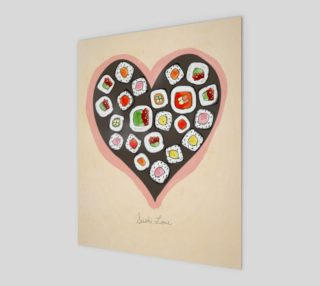 Aperçu de Sushi Love 8x10