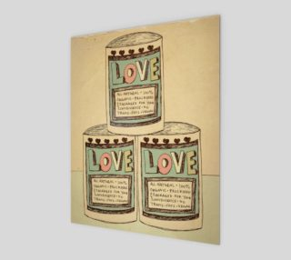 Canned Love 8x10 preview