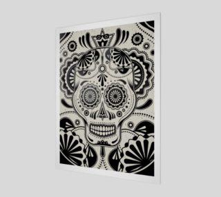 Sugar Skull Aztec Art preview