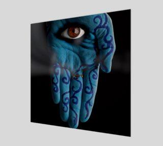 Aperçu de Hamsa Eye Print