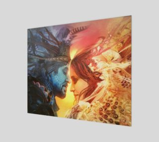Aperçu de Twin Flame Print