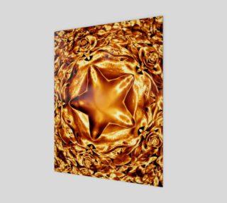 Elegant Shiny Copper Gold Star preview