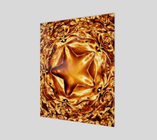 Aperçu de Elegant Shiny Copper Gold Star