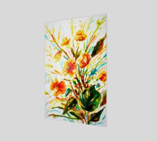 wall_art-Mustard Flowers preview