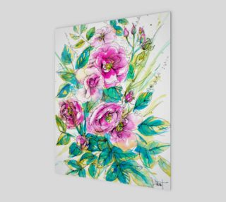 wall-art_Wild Roses for Me preview