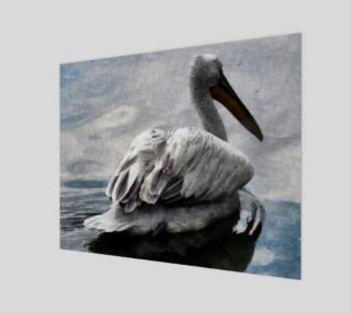 Lonley Pelican(20x16) preview