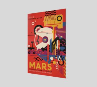 Aperçu de Mars NASA Poster