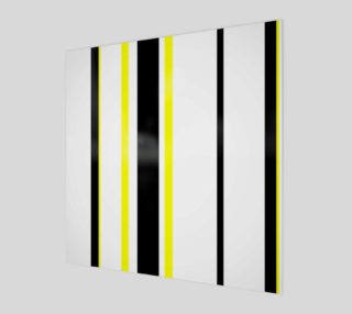 Black Yellow and White Stripes preview