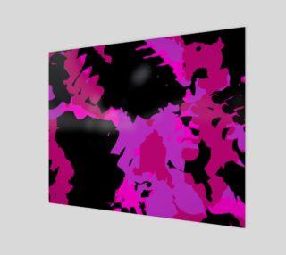 Aperçu de Hot Pink and Black Abstract
