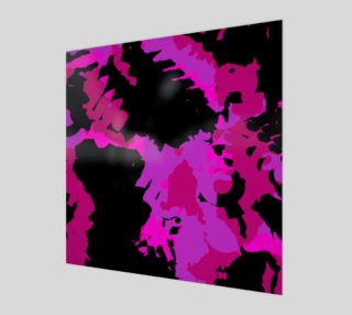 Aperçu de Hot Pink and Black Abstract