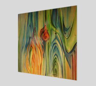 Aperçu de Wood Grain Print on wood