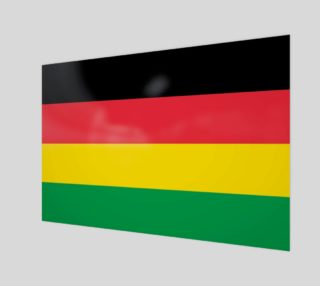 Rasta Colors Green Yellow Red Black Stripes Pattern preview