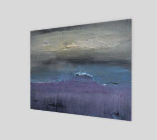Stormy Beach Print 10x8 preview