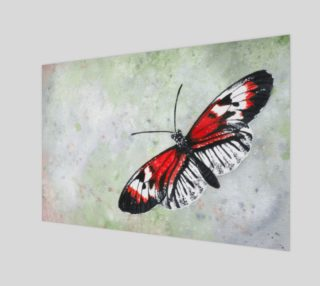 Piano key butterfly preview