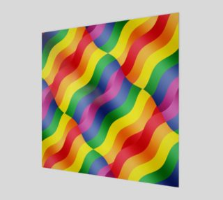 Gay Pride Rainbow Flag Posters and Prints preview
