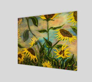 Aperçu de Sunflowers 8 x 10