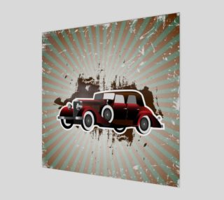 Vintage Car Posters and Prints preview