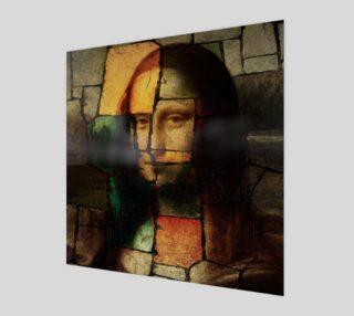Pop Art Mona Lisa Wall Art preview
