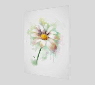 Aperçu de Watercolor daisy
