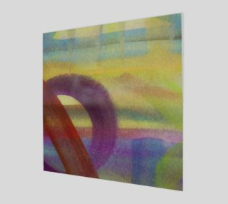Aperçu de Tropical Watercolor Variation Wall Art