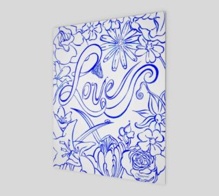 Love - Blue Ink preview