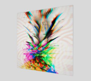 Glitch pineapple preview