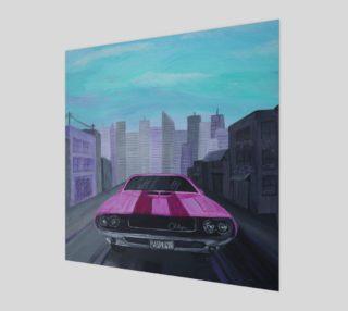 Aperçu de Dodge Challenger Wall Art
