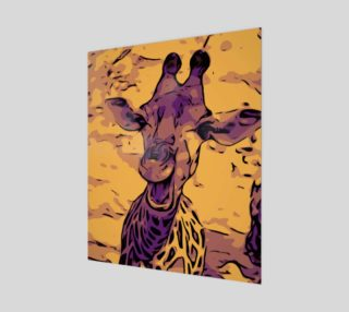 Yellow giraffe preview