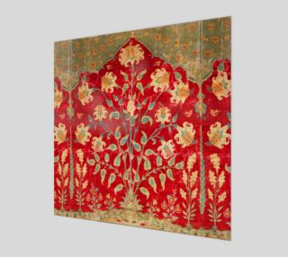 Aperçu de Boho Magic Carpet  - Red - Wall Art