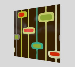 Funk 50's retro wall art preview