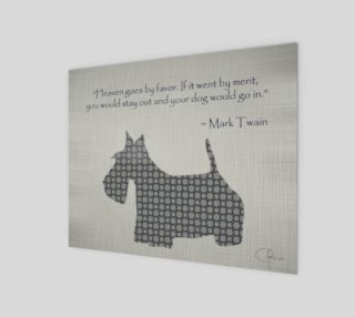 Scotty Dog (Mark Twain Quote) preview
