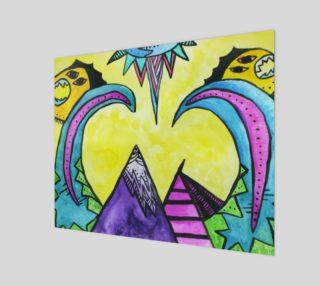 Alien Mountains 20 x 16 preview