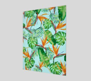 Tropical and exotic pattern preview