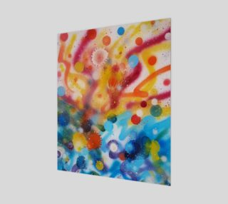 Bringing Life from Spray Painting Canvas preview
