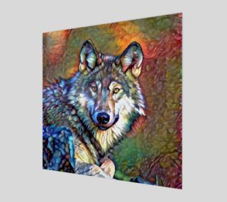 Aura of the Wolf Wall Art preview