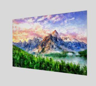 Aperçu de Artwork - Mountain Lake