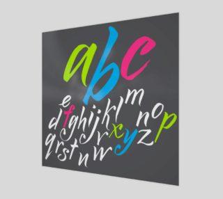 Aperçu de alphabet