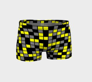 Yellow, Black, and Medium Grey Random Mosaic Squares preview