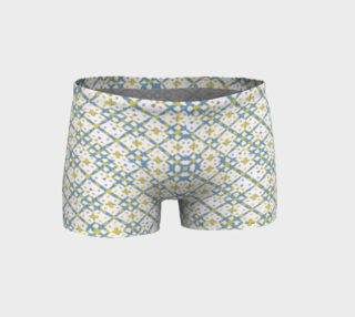 Colorful Check Geometric Pattern Shorts preview