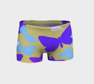Purple Butterflies Shorts preview