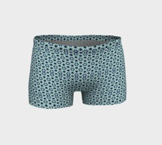 Green and Navy Stars Geometric Shorts preview