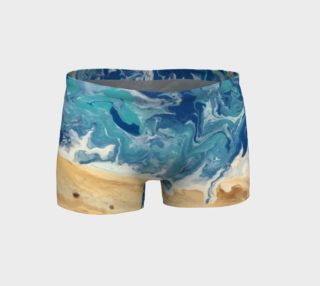 Beach Abstract Shorts preview