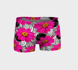 Hot Florals - Shorts preview