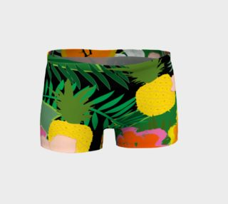 In the Jungle Women's Yoga Shorts preview